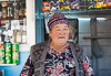 071101-2860 Lady tending her roadside shop (Kyrgyzstan)
