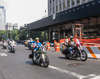 060909-1704 Motorcycle rally near Ground Zero (World Trade Centre), NYC